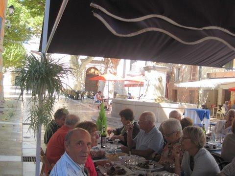 """Déjeuner sur le thème de la figue (restaurant """"Lou Pitchoun"""")"""